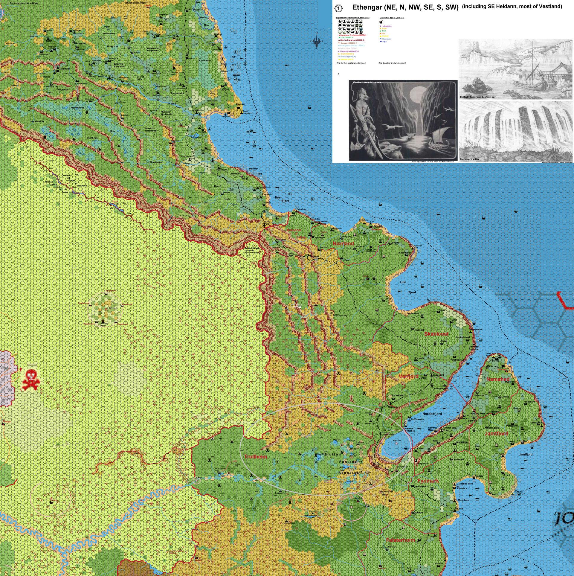 Ethengar Northeast 1mile hex