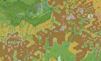 Karameikos North 1 Mile Hex