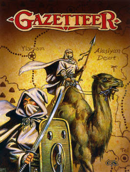 Gazetteer 2 Emirates of Ylaruam Color Prelimenary