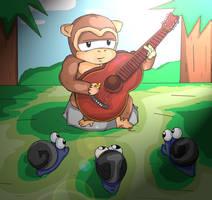 Ape of music