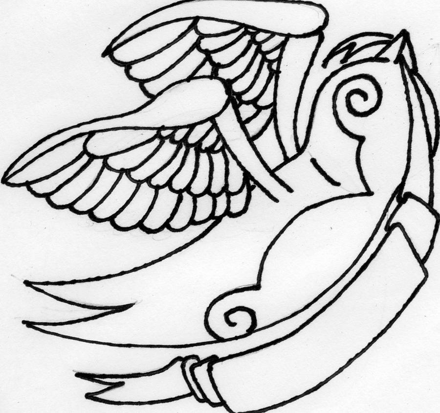 Sparrow tattoo design by ~alex-owen on deviantART