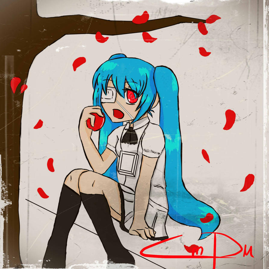Top Secret Hatsune Miku by karuTwin