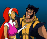 Betty and Wolverine