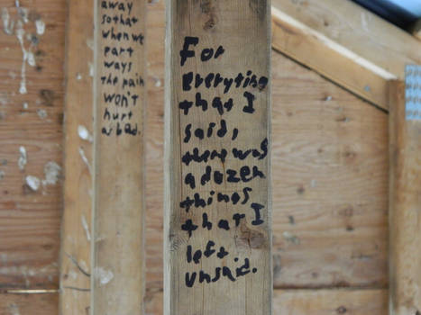Words in the Rafters XVII