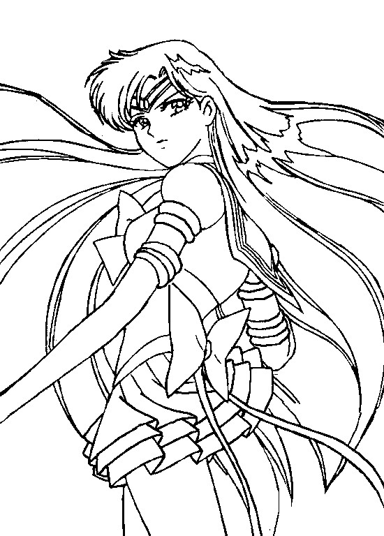 Eternal Sailor Pluto Coloring Page by Sailortwilight on DeviantArt