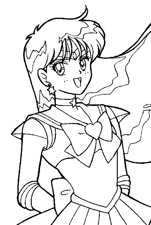 Super Sailor Mars Coloring Page by Sailortwilight on DeviantArt