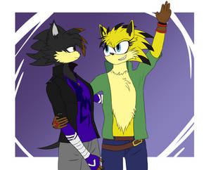 Janna and Spyx The Hedgehog