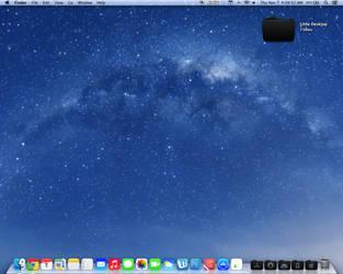 Custom Mavericks 10.9 OSX screenshot. iOS7/Flurry by msteright