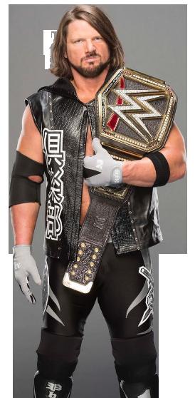 WWE AJ Styles PNG by D...