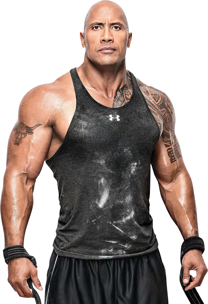 WWE The Rock PNG by Double-A1698 ...