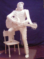 Another Elvis Made from Margarine by chefkemp