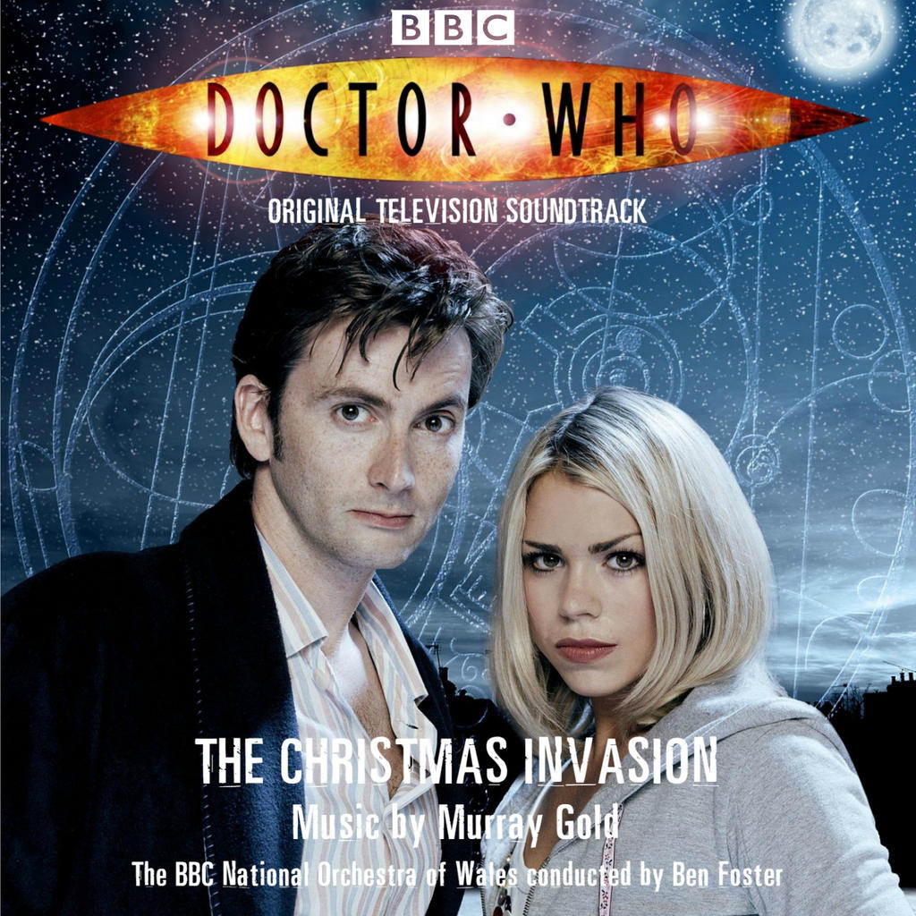Doctor Who The Christmas Invasion.Doctor Who The Christmas Invasion Ost Cover By