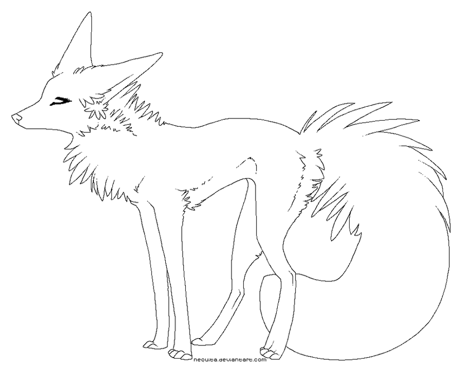 Line Art Dog : Free dog lineart pixel by nequita on deviantart