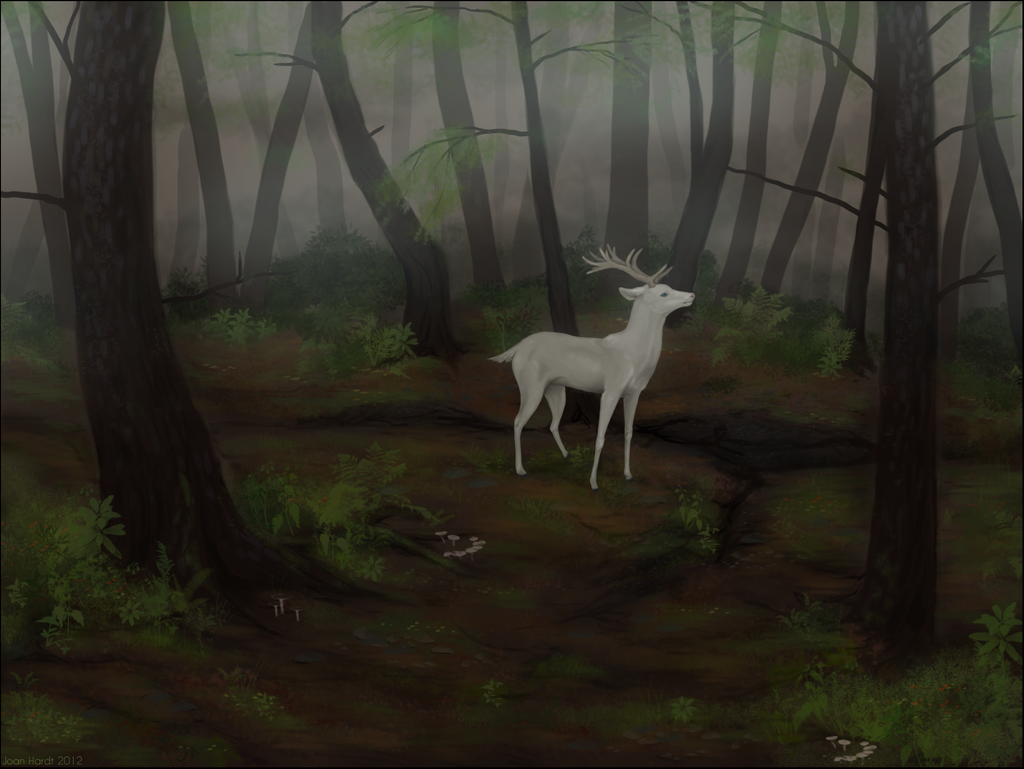 White Stag by nequita