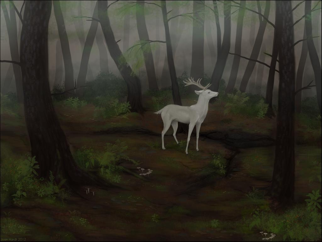 White Stag by nequita