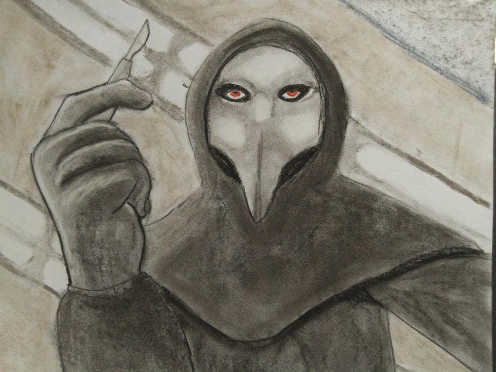 SCP-049 I sense disease in you by BrokenDice on DeviantArt