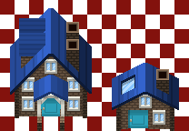Brick House Tiles by PokemonTilesetStudio