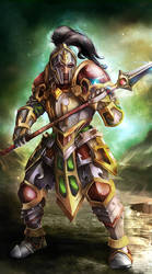 Pikeman from Petagon by OrionArtsGames