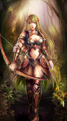 Archer from Petagon by OrionArtsGames