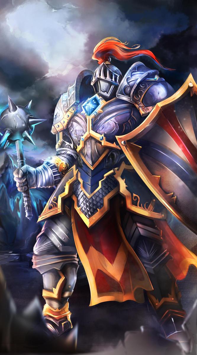 Knight from Petagon by OrionArtsStudio