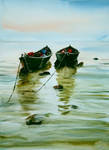 Fishing boats by sezarka
