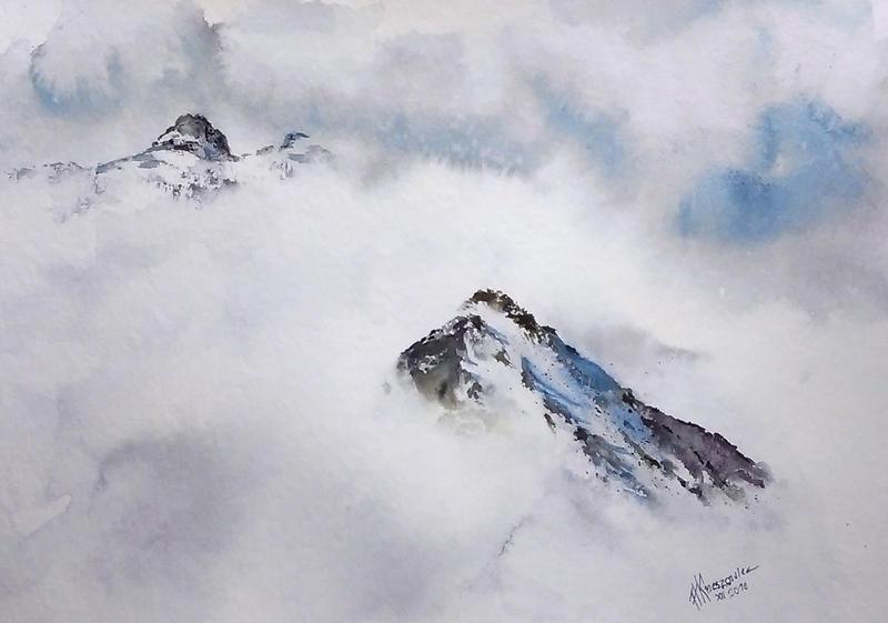 Mountain by sezarka