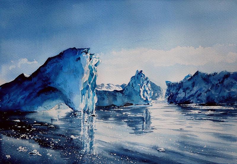 Glacier by sezarka