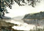 Jezioro o swicie/Morning lake