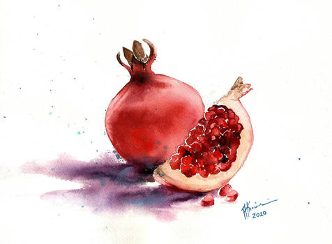 Granaty/Pomegranate fruit