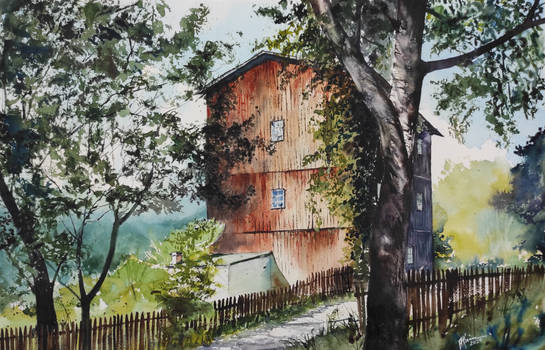 Watermill in Dulnik - Poland/ Mlyn wodny w Dulniku