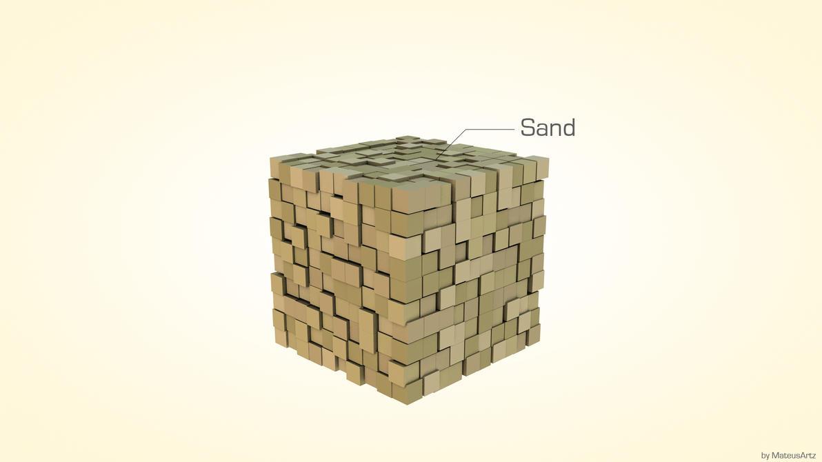 Good Wallpaper Minecraft Minimalistic - minecraft_minimalist___sand_by_mateusrm94-d4hlpqh  Image_43596.jpg