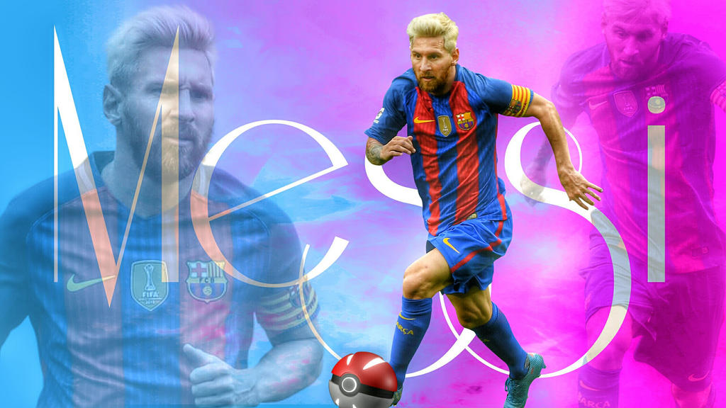 Messi - Cool Wallpaper  by Leo10thebest