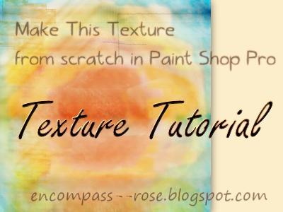 Tutorial: Texture From Scratch In PSP (2) by rosebfischer