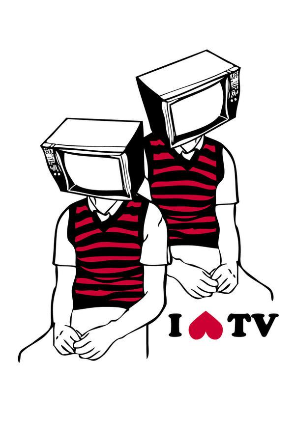 i hate tv by alienbiru