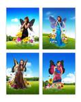 my butterfly girls