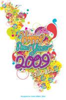 Happy New Year 2009 by alienbiru