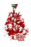 Save the Childrens of Gaza by alienbiru