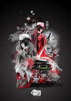 Red Warrior by alienbiru