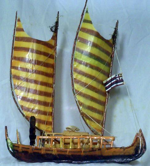 ancient polynesian sailing canoes models by btwolfe on