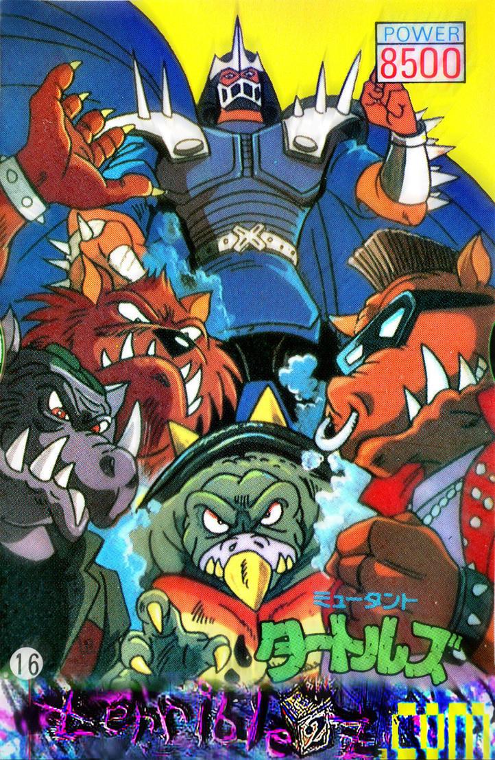 Shredder's Brute Force by tOkKa