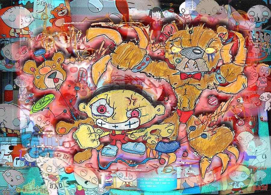 Stewie: Dancing Doomsday Bear by tOkKa