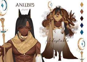 [ OPEN ] ANUBIS - Adoptable by Mingnimal