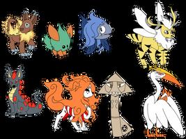 pokemon i made as a kid