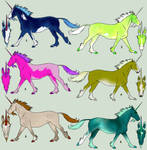 Unicorn Adoption 2 - 1p each