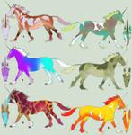Unicorn Adoption 4 - 1p each