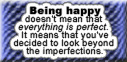 Look Beyond the Imperfections - be happy by decors