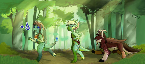 Trip To The Lake by Spacehums