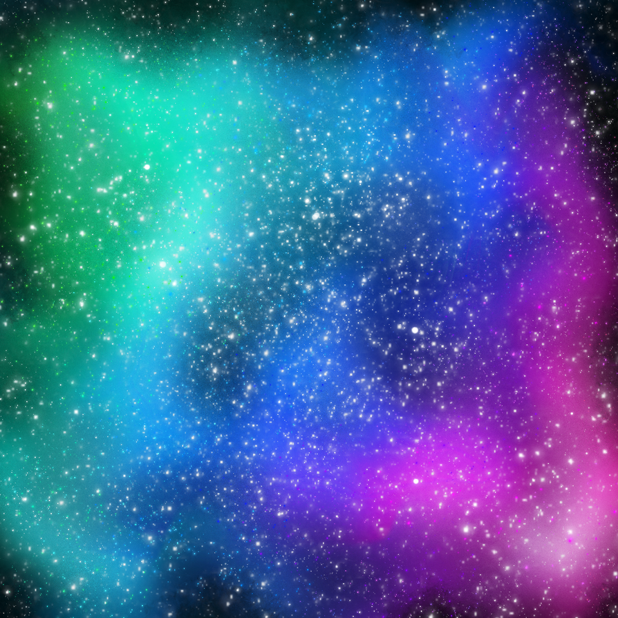 colorfull Space by dcgamergirl
