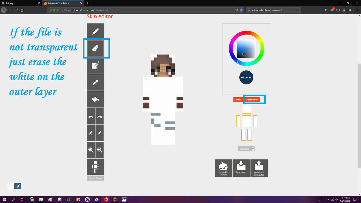 FINDING OLD MINECRAFT SKINS