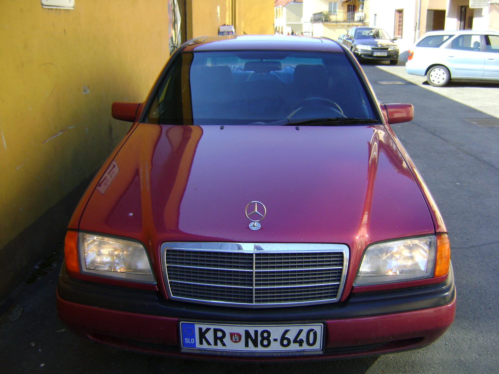 Mercedes Benz c 180 by